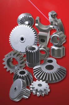 Att skapa sintrade maskindelar av metallpulver är väldigt effektivt. Man får väldigt lite spillmater...