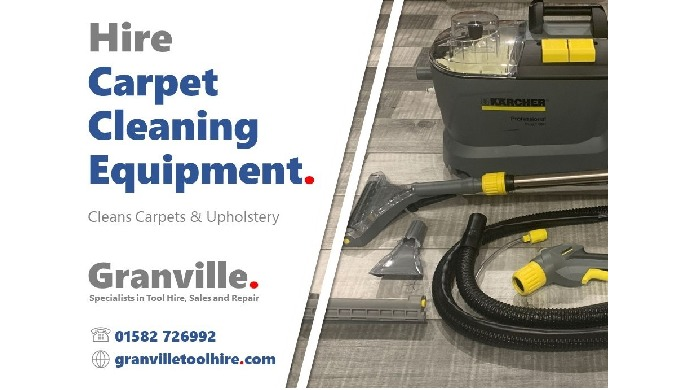 At Granville we provide help and advice on carpet cleaner hire and the sale of detergent. Our portab...