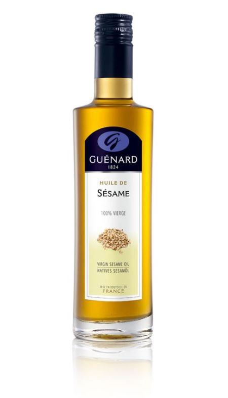 L'Huile de Sésame 100% vierge est l'huile toastée aux notes asiatiques. L'huile de sésame est un inc...