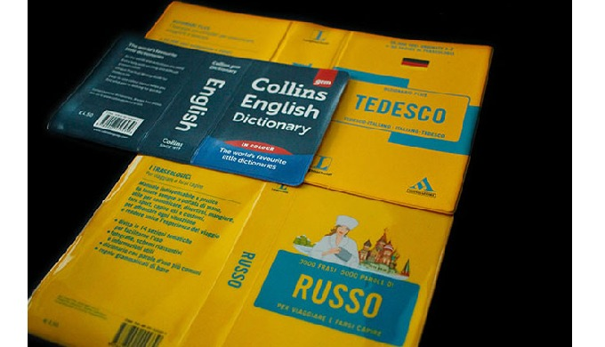 Dictionary Covers in PVC