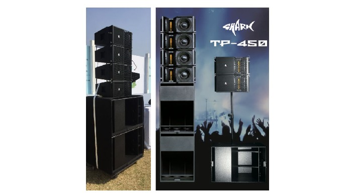 Main speakers and subwoofer