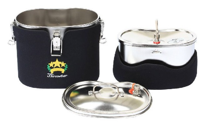 Walking Cook l outdoor canteen cookware