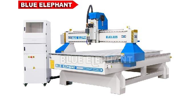 Máquina de rotogravura CNC para gravura em madeira ELECNC-1325