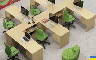 Mobilier pentru birouri necompartimentate