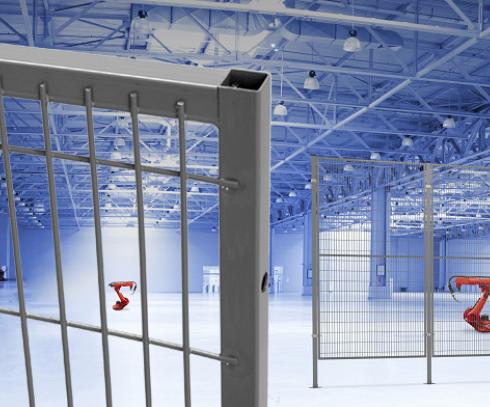 Troax paneler och stolpar för maskinskydd är kvalitetstestade tillsammans med infästningssystemen oc...