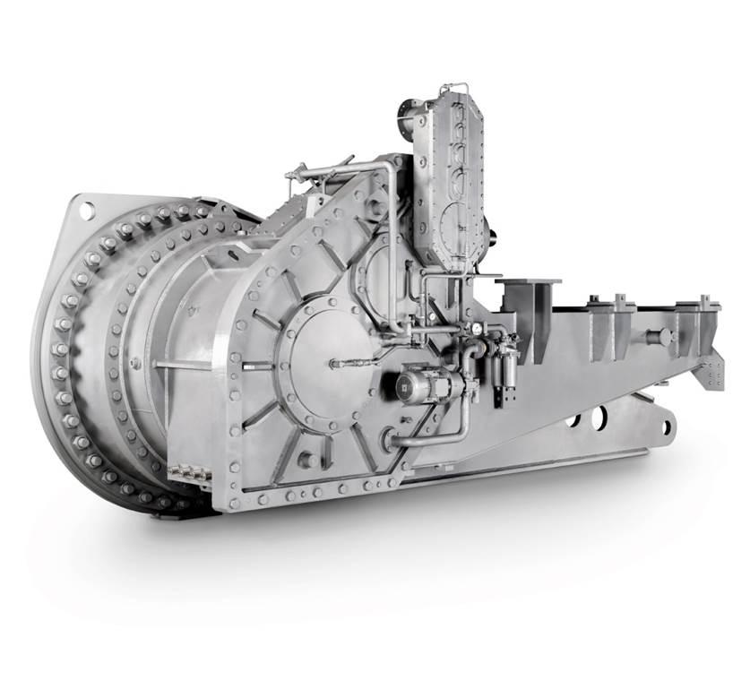 Planetengetriebe / Koaxial / für Schaufelradbagger