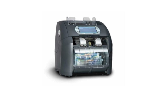 The X2300 is a desktop solution suited to, bank branches, cash centres, casinos, commercial banks, c...