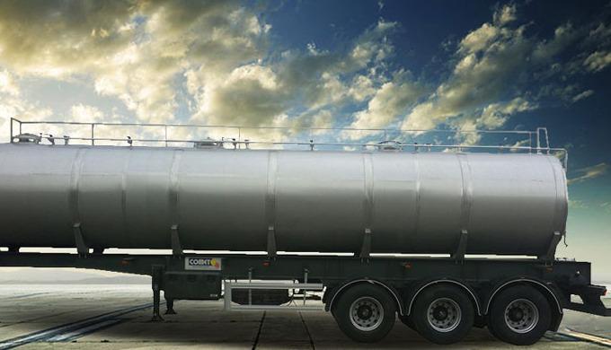 Cette citerne est dédiée au transport de certains produits alimentaires tels que les huiles végétale...