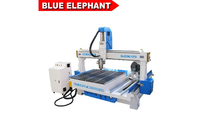 4 axis 1313 cnc cutting router machine for 3d engraving and milling