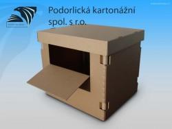 Exportní kartonové a lepenkové obaly a krabice