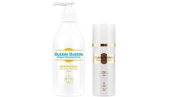 O2 bubble 100ml, 300ml l bubble cleansing face
