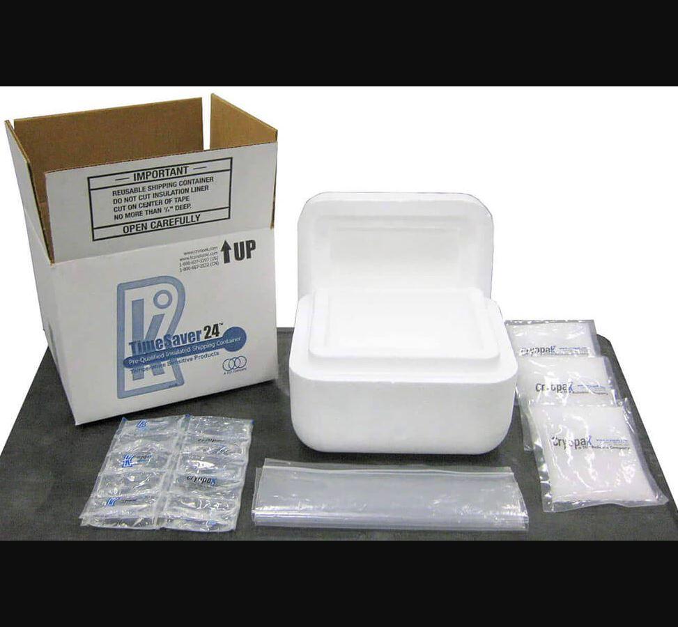 Emballage TimeSaver™ CRT de Cryopak