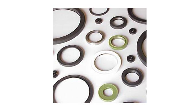 Die Radial-Wellendichtringe von DOMSEL AG werden vor allem im Maschinenbau, z.B. bei Motoren, Getrie...