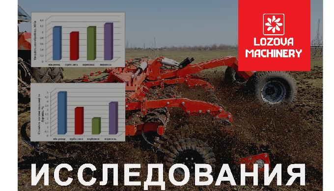 Исследования эффективности агрегатов LOZOVA MACHINERY: итоги, часть І
