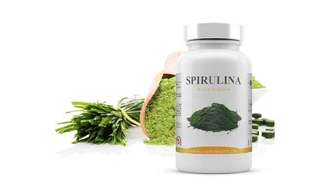 La spirulina (Cuyo nombre botánico es Spirulina platensis) es una cianobacteria que destaca por su a...