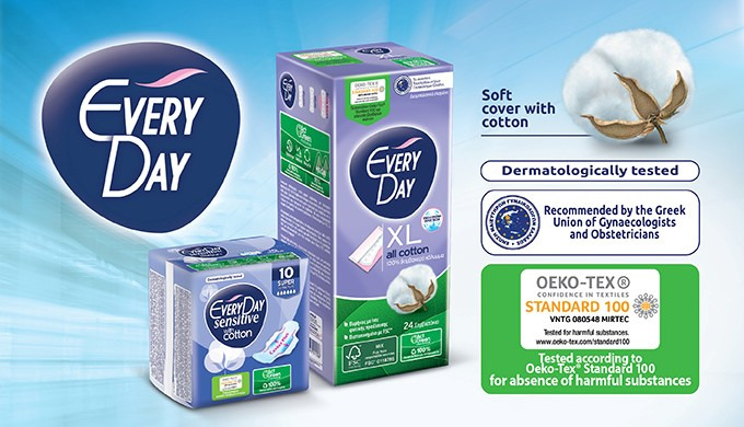 EveryDay: A Complete range of feminine hygiene products