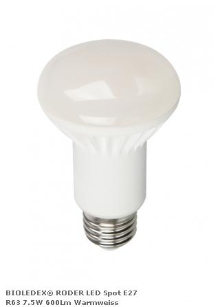 Светодиодная лампа BIOLEDEX RODER R63 с цоколем Е27 7.5Вт 2700К