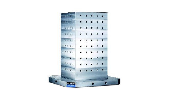 · Están debidamente tratadas (normalizadas). · Muy adecuado para centros de mecanizado. · Amarre de ...