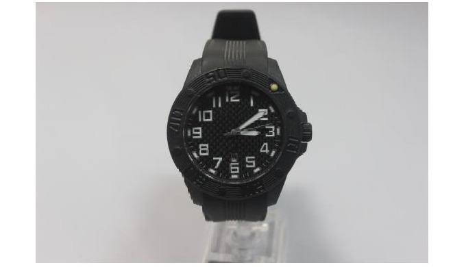Diver Quartz Carbon-Fiber Dial Bracelet Watch for men Product NameCarbon Fiber Watches Model No.HLYC...