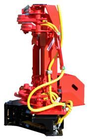 Rázová harvestorová hlavice Naarva S23C pro traktory a 5-8tunové bagry Rázová hlavice Naarva S23C je...