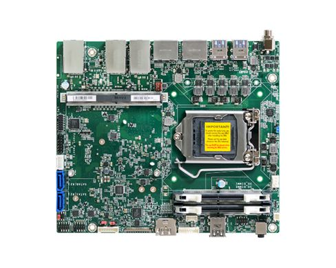 8th/9th Generation Intel® Core™ Processors 2 DDR4 2400/2666MHz SODIMM up to 32GB Multiple Displays: ...