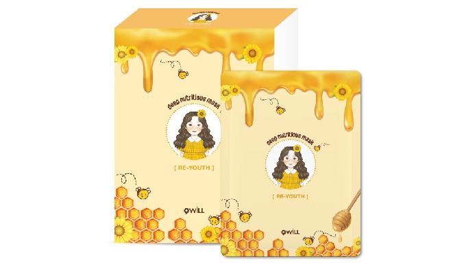 It is a nutrition mask formulated with honey extract to provide effective moisturization and skin el...