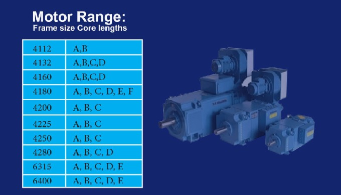 The modular design of our popular DC motor range offers a high degree of flexibility to adapt to the...