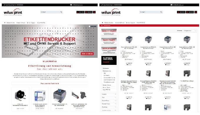 Unser neuer Onlineshop für Etikettendrucker und Software ist live - labellingshopcom