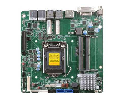 7/6th Gen Intel® Core™ with Intel® H110 2 DDR4 SODIMM up to 32GB Three display ports support two ind...