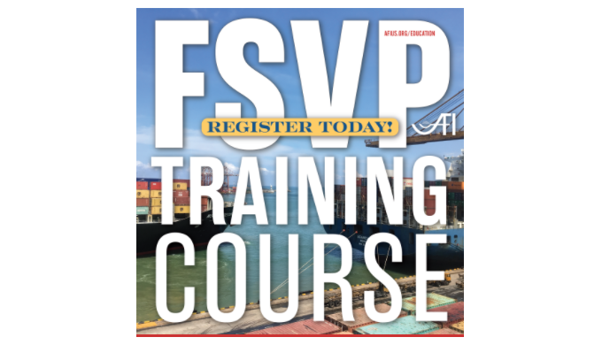 AFI Offers FSVP Training Courses