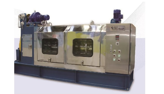 The high efficiency screw press supplies the sludge cohered to the mechanical extractor, the filtrat...