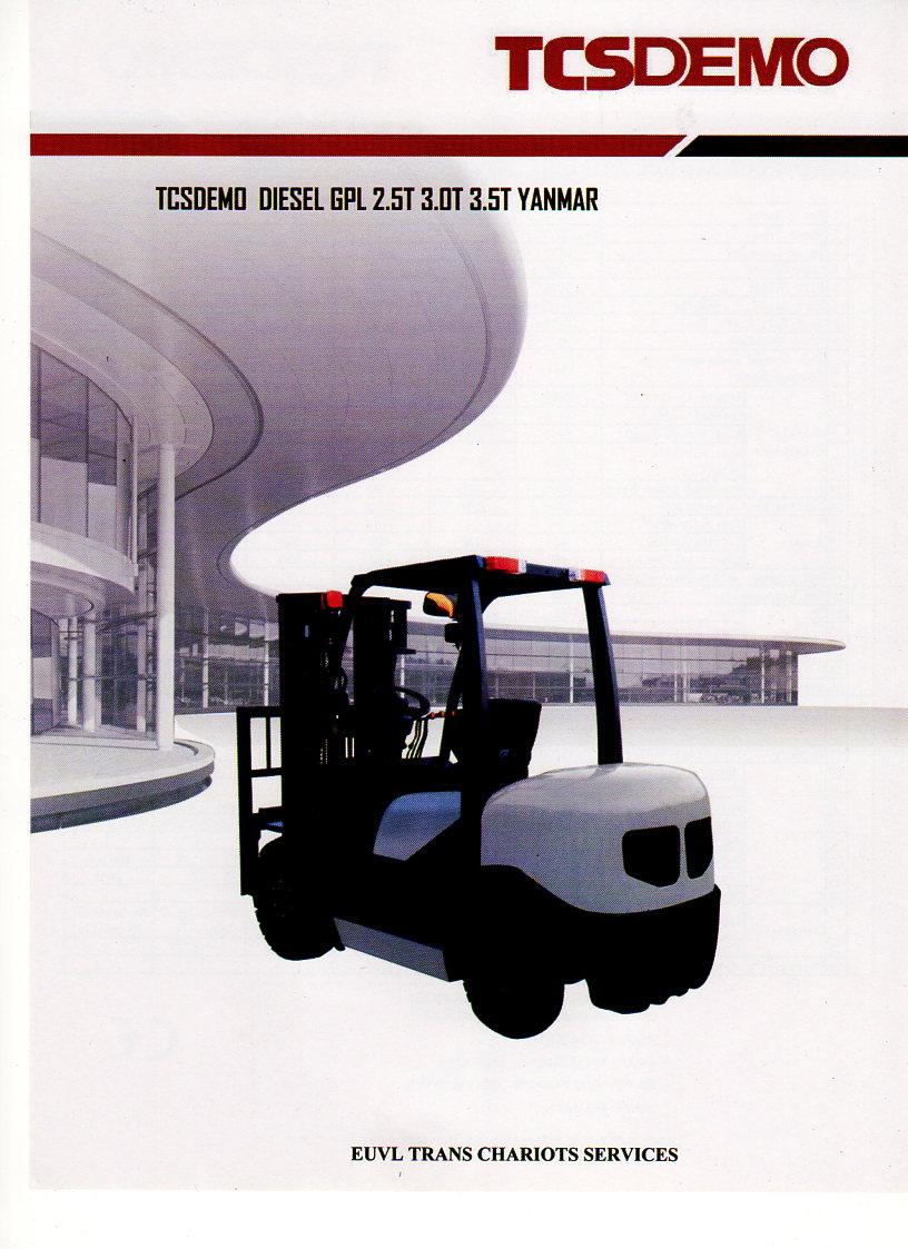 capacité de levage 03 tonne/03.5 T Hauteur de levage 04.5 metre option/TRIPLEX/TDL