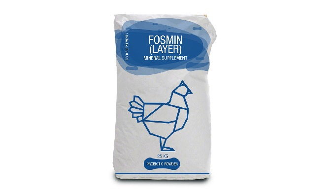 FOSMIN LAYER Fosmin (Layer) trace minerals for the commercial layer is for poultry animals in case o...