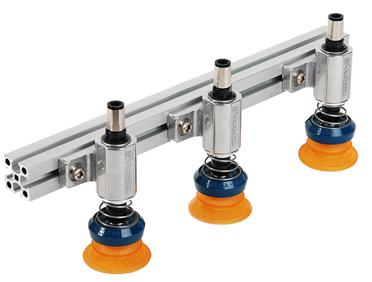 Byggsystem baserat på moduler vilka monteras i aluminiumprofiler. Två olika adaptrar med flera olika...