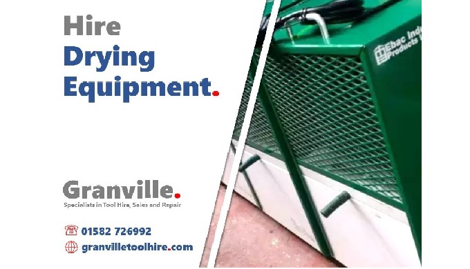 We're here to help with every eventuality the wet weather may bring. Hire a range of drying equipmen...