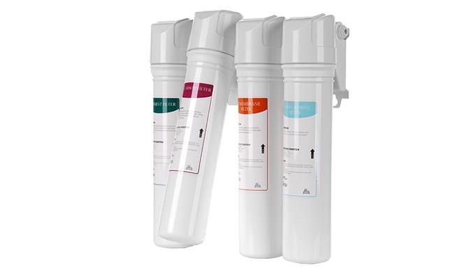 Система фильтрации Moolmang EZ с быстрой заменой Система фильтрации UF 4-ступенчатая система очистки воды для очистки по