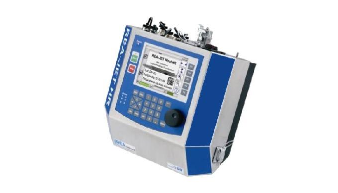 Die hochauflösenden Tintenstrahldrucker REA JET HR mit HP-Drucktechnologie nutzen die millionenfach ...