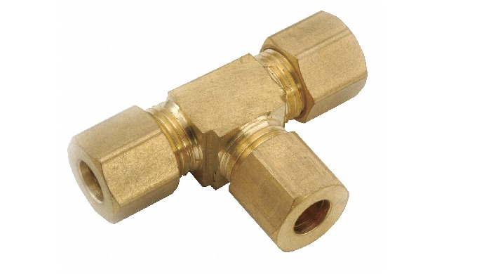BRASS TEE UNION can be usable in various types of industries like Gas, Air, Hydrolics and many more.