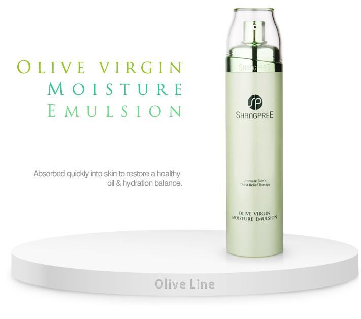 SHANGPRE Olive Virgin Moisture Emulsion of korean brand