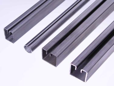 Ramprofiler används för inramning av perforerad plåt, galler eller sträckmetall vid tillverkning av ...