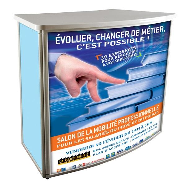 Optimiser l'agencement de votre hall d'accueil ou de votre stand d'exposition.Structure en aluminium...