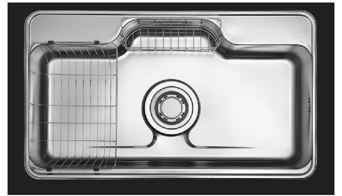Kitchen Sink   LS900 with Accessories