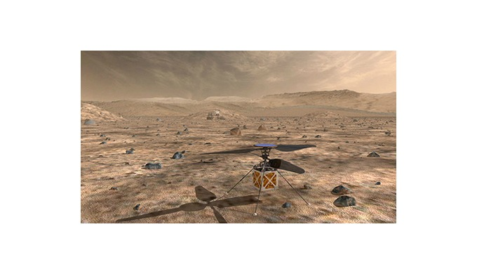 The first Mars helicopter will fly with maxon's DC motors