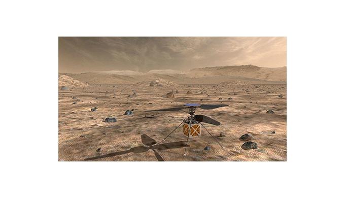 Le premier hélicoptère volant sur Mars aura des moteurs DC suisses