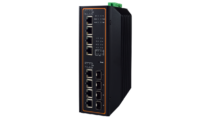EHG7512 Series / Industrial Ethernet Switch / Industrial PoE Switch