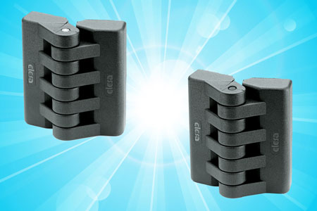 There are many plastic hinges on the market and it is an area where low quality is common so it is o...