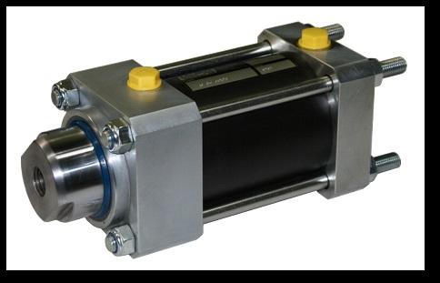 Dragstångscylindern kan skruvas direkt i verktyget med dragstängerna, idealiskt för bl.a fastspännin...