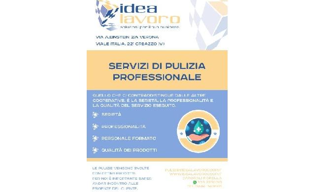 Svolgiamo servizi di pulizia industriali con personale qualificato nel territorio di Verona, Vicenza...