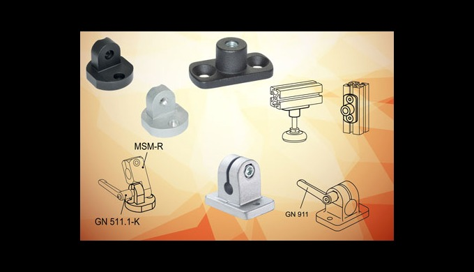 Elesa profile compatible mounting components speed the process of producing industrial frames, scree...