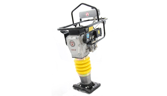 CIMAR Tamping Rammer (Made in China) The tamping rammer (jumping jack) has a has a smaller foot that...